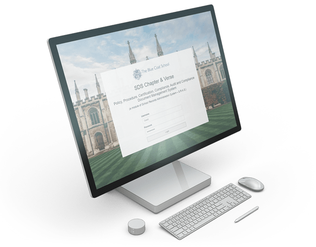 Chapter & Verse provides a secure but convenient method of storing, accessing and managing your university's policy documentation
